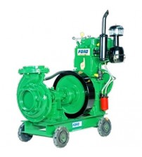 Diesel Water Pump Couple Set 10HP 2.5 x 3