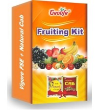 Geolife Fruiting Kit (Vigore FSE 10 Grams + Natural CAB 50 Grams)