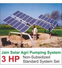 Jain Solar Agri Pumping 3 Hp 3000 Wp 20 Mtr Fix Stand Regular