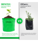 Mipatex Woven Fabric Grow Bags 10 x 10 inch (Pack of 2)