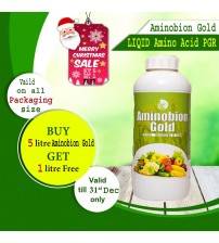 Aminobion Gold - (Amino Acid+Peptides) 1 Litre (Buy 5 Ltrs - Get 1 Ltr Free)