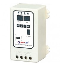 Skylet Digital Time Switch & Clock DTS - 110(2 O/P)