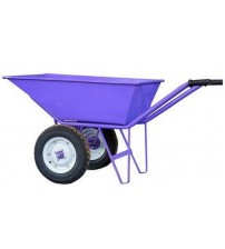 Double Wheel Barrow / Trolley - Violet