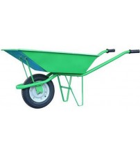 Single Wheel Barrow / Trolley - Green