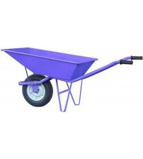 Single Wheel Barrow / Trolley - Violet