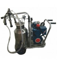 Milking Machine Mobile Trolley Single Cow Single Can
