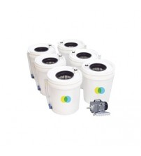 Aeroponics Air Bucket Hexa